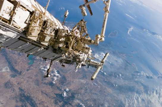 Book Launch: International Space Station – Architecture Beyond Earth